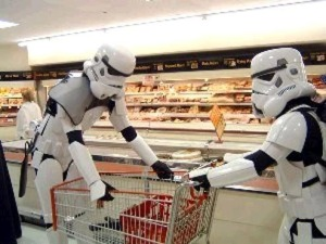 Storm Troopers Shopping